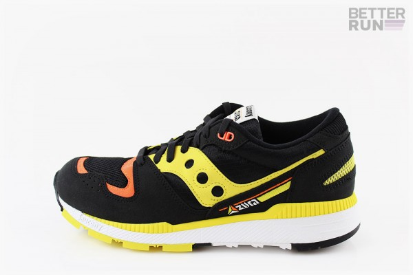 Saucony Sneaker - Azura - Black Orange Yellow