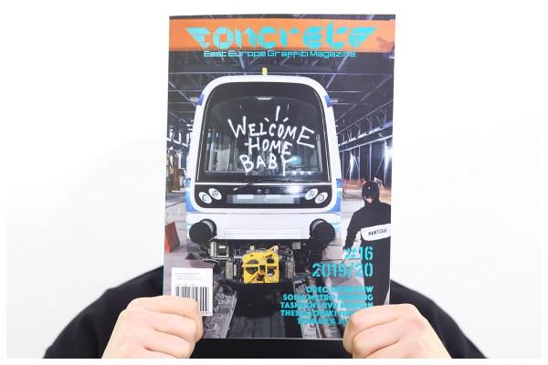 CONCRETE #16 - East Europe Graffiti Magazine