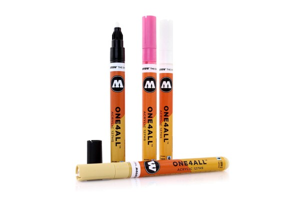 MOLOTOW Marker ONE4ALL 127HS - 50 Farben
