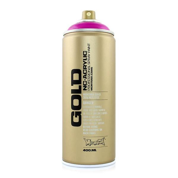 Montana Cans Gold Transparent 400ml - 9 Farben
