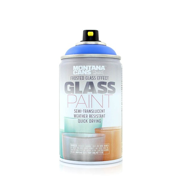 Montana Cans Frosted Glass Effect Paint 250ml - 9 Farben