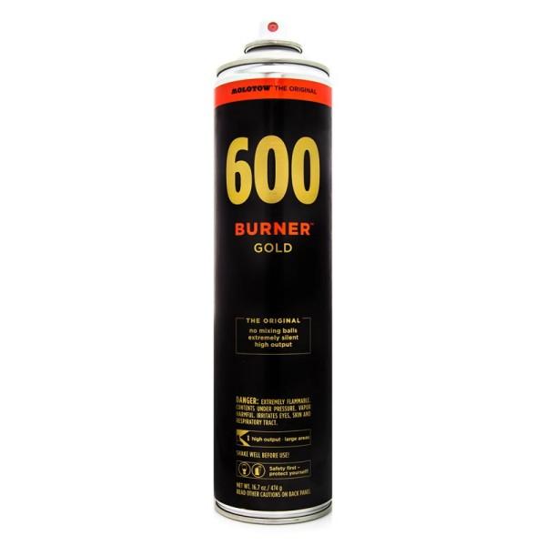Molotow Burner Gold 600ml - Gold