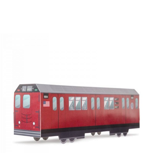 MTN Systems Miniatur Trains - NYC Red Bird Subway
