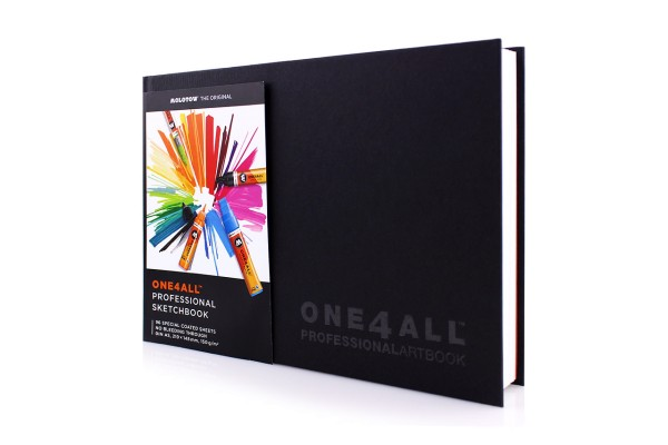 MOLOTOW ONE4ALL - Professional Sketchbook A5