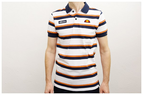 Ellesse Heritage Polo-Shirt - Saca Polo - White