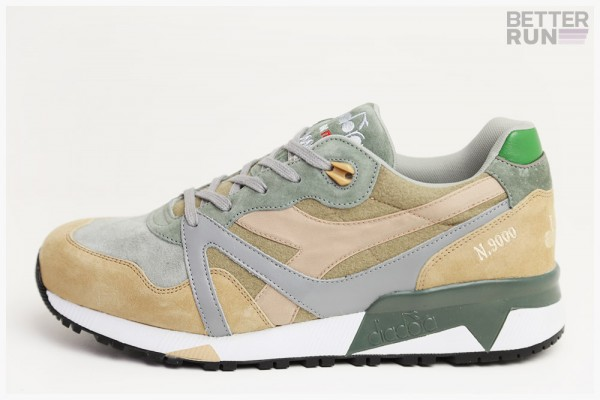 Diadora Sneaker - N9000 ITA Alpini - Green Laurel Wreath