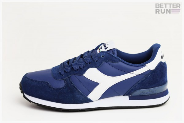 Diadora Sneaker - Camaro Leather - Saltire Navy - White