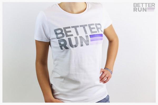 Betterrun Logo T-Shirt Women - White