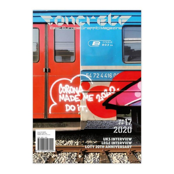 Concrete Magazin East Europe Graffiti - Ausgabe 17
