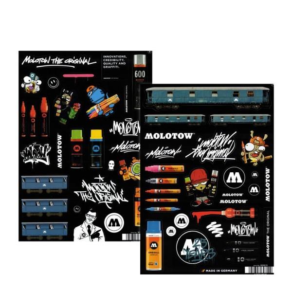 Molotow Sticker Sheets