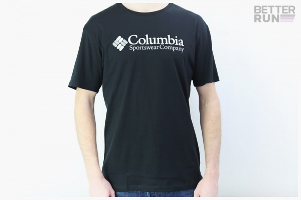 Columbia T-Shirt - North Cascades Short Sleeve Tee - Black