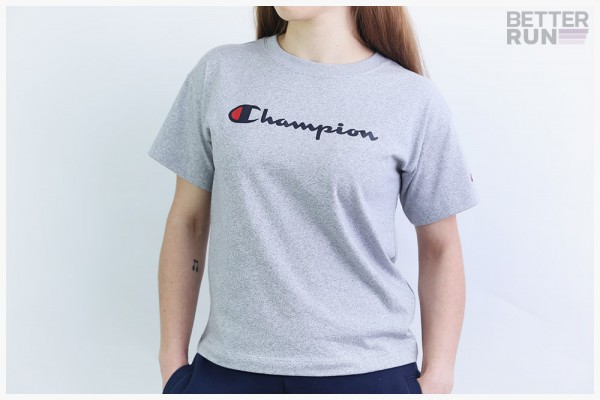 Champion T-Shirt - Crewneck Shirt - Grey Melange