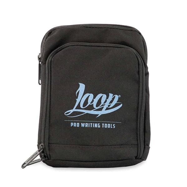 Loopcolors Pusherbag Logo Loop - Schwarz-Hellblau