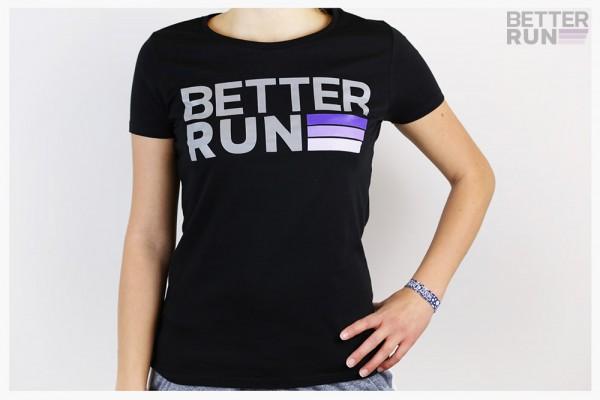 Betterrun Logo T-Shirt Women - Black