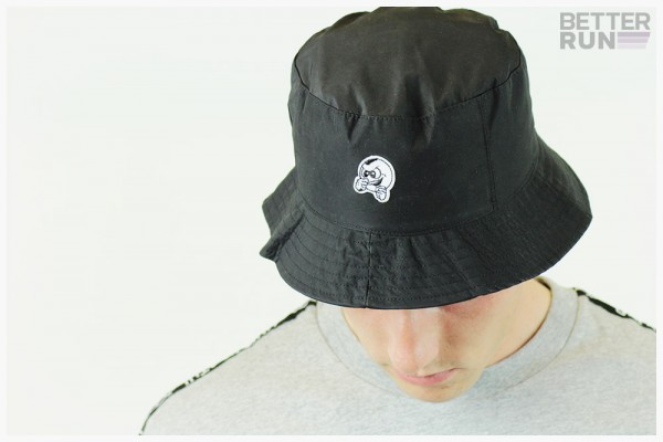 Unfair Athletics Fischerhut - Punchingball Bucket Hat - Black