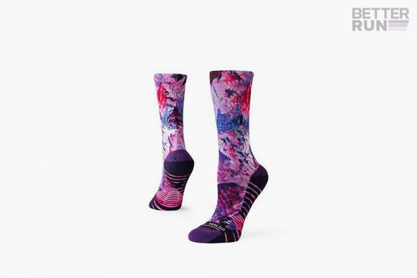 Stance Socks - Training Woman Palm Crew - Purple