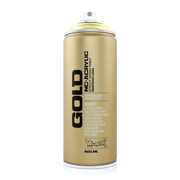 Montana Cans Gold Chrome Effect 400ml - 3 Farben