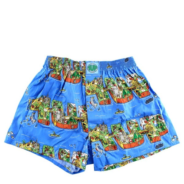 1UP Boxershort - Lousy Living 4.0 - Multicolored