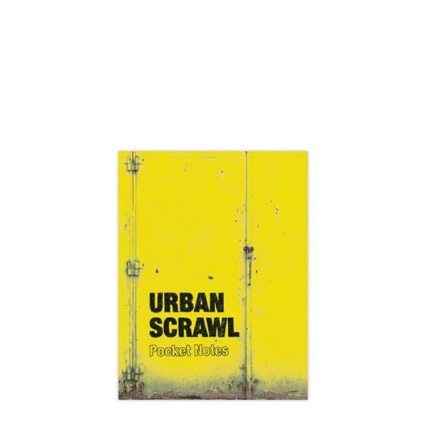Urban Scrawl Pocket Notes Yellow