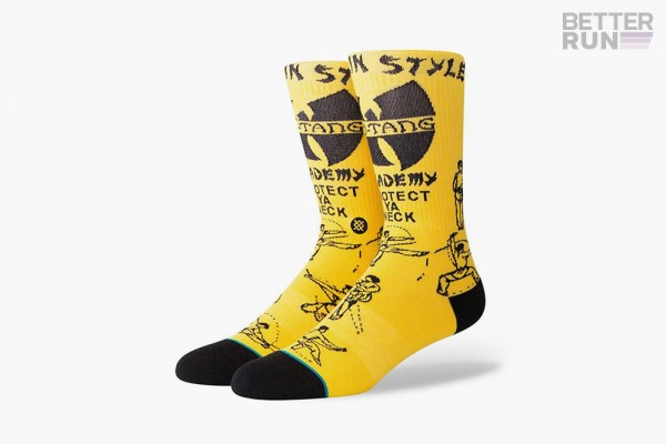 Stance Socks - Wu Tang Clan - Anthem Protect YA Neck
