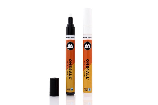 MOLOTOW Marker ONE4ALL Acrylic 227HS - 2 Farben