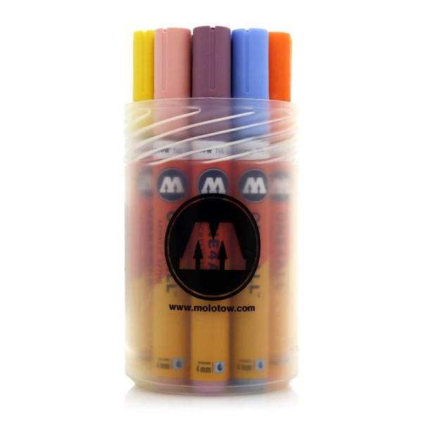 Molotow One4All Marker 12er Set - 227HS Pastel Set