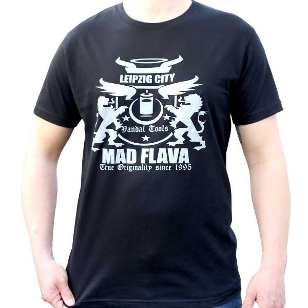 Mad Flava Classic Logo Shirt - Black
