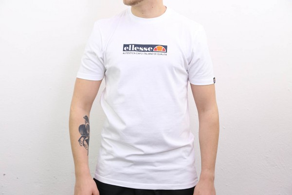 Ellesse Heritage T-Shirt - Offredi Tee - White