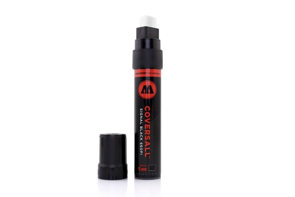MOLOTOW Marker - 660PI CoversAll 15mm - Black