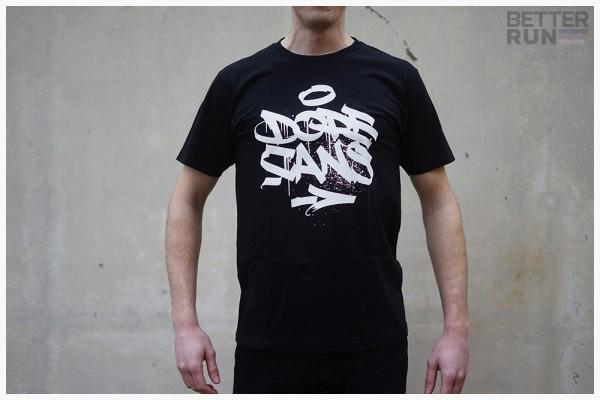 Dope Shirt Logo Dope Cans - Schwarz/Weiß