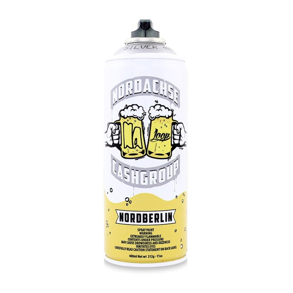 Loopcolors Cans NORDACHSE Limited Edition 400ml - Silver
