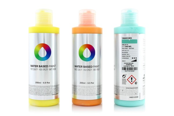 MTN Water Based Paint 200ml - 20 Farben