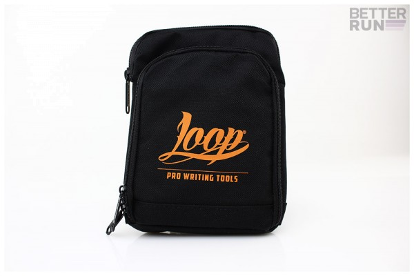 Loopcolors Pusherbag Logo Loop - Schwarz-Orange