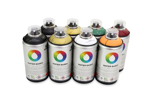 Graffiti Combi Deal - MTN Water Based 300ml - 8er Sparpack