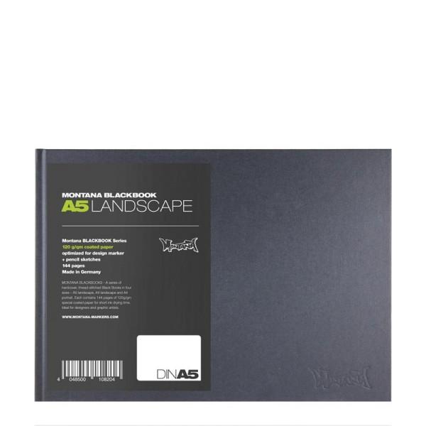 Montana Blackbook - A5 Querformat