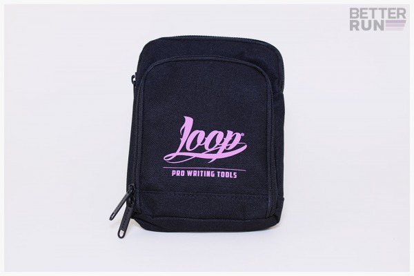 Loopcolors Pusherbag Logo Loop - Schwarz-Pink