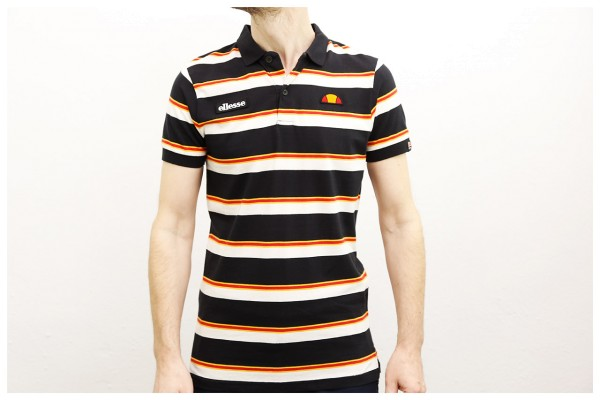 Ellesse Heritage Polo-Shirt - Saca Polo - Black