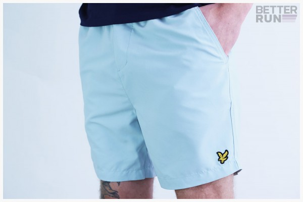 Lyle & Scott Hose - Button Fly Short - Blue Shore