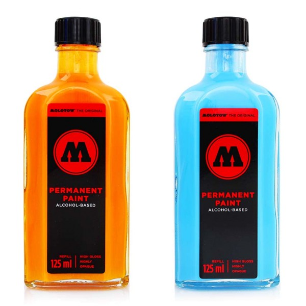 Molotow Permanent Paint Alcohol Refill 125ml - 13 Farben