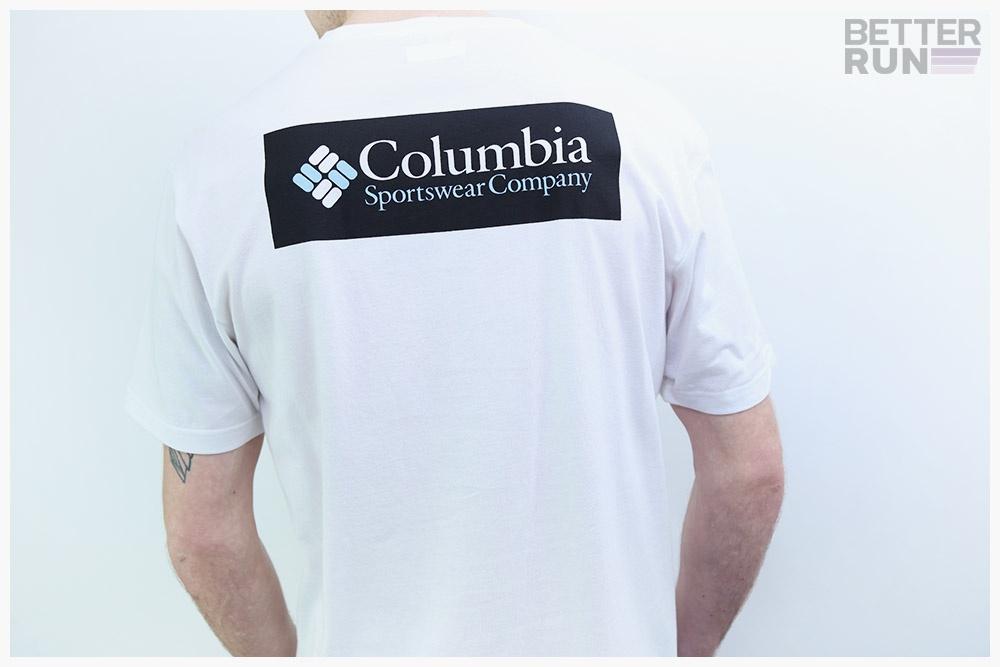 COLUMBIA Terra Vale EM0737718 Coton T-Shirt Manches Courtes pour Hommes Nouveau