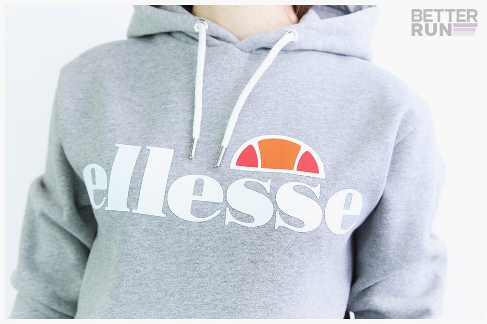 SGS03344 Grey Marl Ellesse Heritage Hoodie Torices OH Hoody