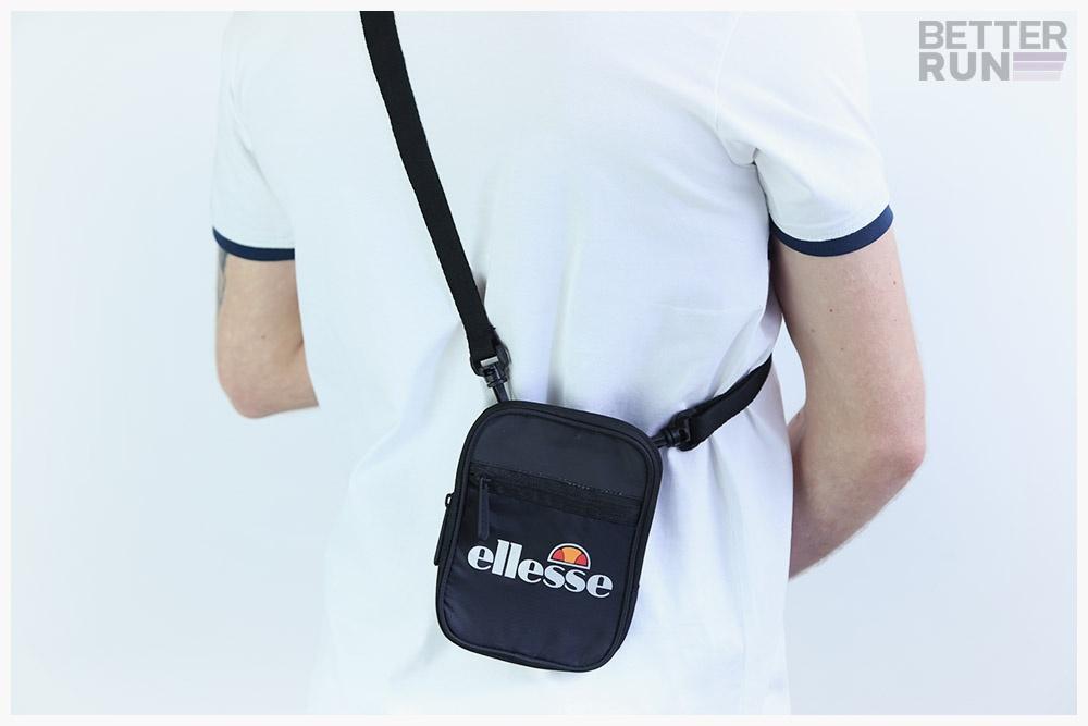 Details zu Ellesse Heritage Shoulderbag Venna Small Item Bag Black