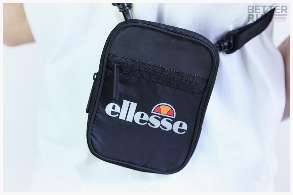 Ellesse Heritage Shoulderbag Venna Small Item Bag Black | eBay