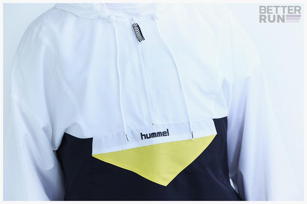 Hummel Hive Jacke White Black Yellow Arthur Jacket
