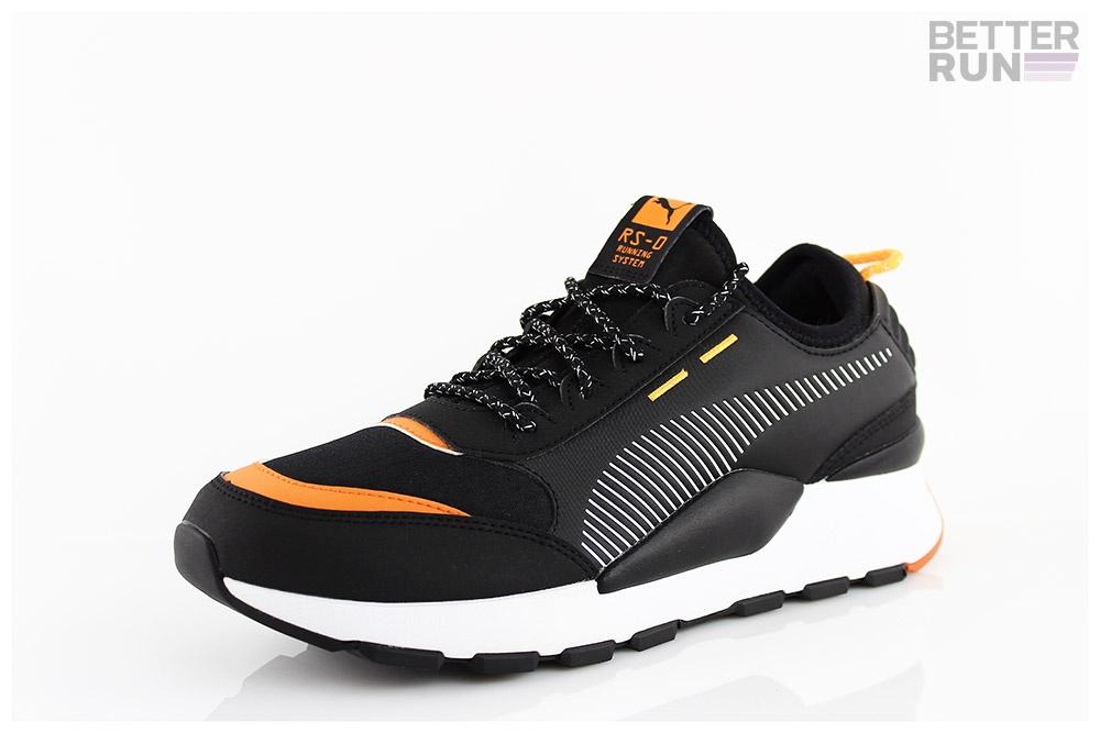 Détails sur Puma Baskets RS 0 Trial Noir Orange